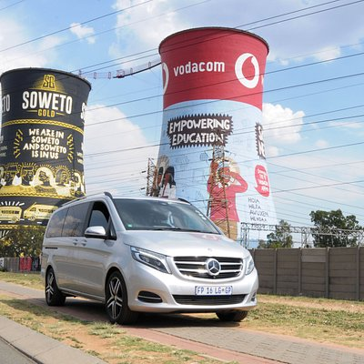 Captured in this image is the famous Soweto Tours in Soweto, Gauteng. Here tourists can bungee jump off the tours, enjoy a township inspired meal at Chaf Pozi and interact with the cultural hues in this area.