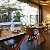Restaurant Ají y su magnifica terraza