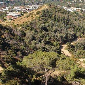 Trail dall'alto
