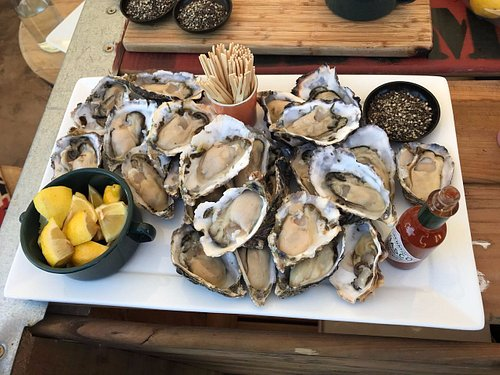 Wine tastings once a month paired with fresh local seafood from the West Coast.