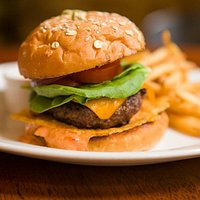 Zinc Burger- rated top 50 in TEXAS! By Texas Monthly