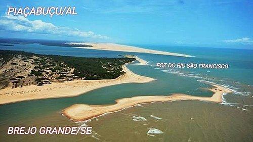 Geografia da foz do Rio Sao Francisco