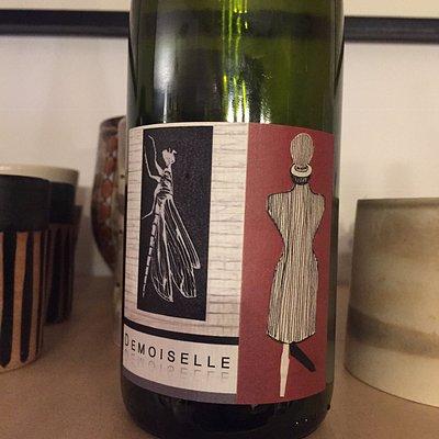 Vin bio nature, le demoiselle de Rietshe, gewurtztraminer obtenu par maceration