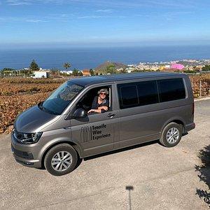 With my 7 seater Super Wine Van !!