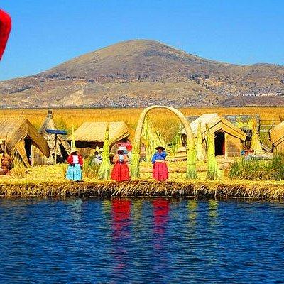Lago Titicaca: Islas de los Uros.