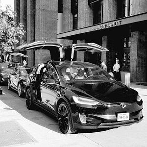 Tesla Black Car service