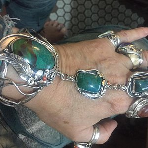 Triplet with 3 amazing Chrysocollas going to Switzerland