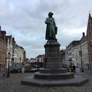 Jan Van Eyck Monument at Jan Van Eyckplein