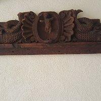 Faldon de Puerta madera de pino mas de 150 años perfecto estado de conservación  de Guanajuato,Gto.