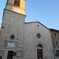 chiesa collegiata di Santa Croce - facciata