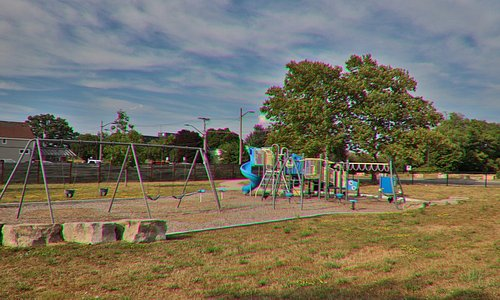 A nice park with a playground
