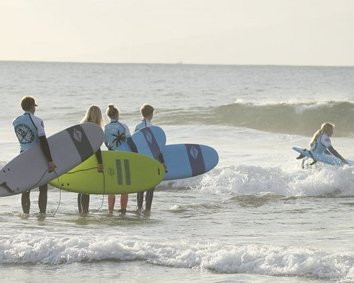 Sunset surfing, why not? We are living in the paradise.
