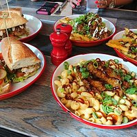 Po'boys, dirty fries and topped mac 'n cheese
