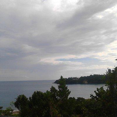 View of the Sea from Rio Nuevo Battle Site