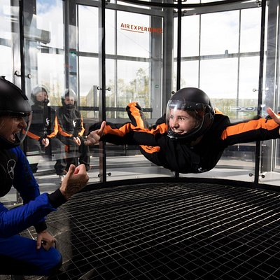 Indoor skydiving - everybody can fly!