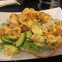 Tempura salad