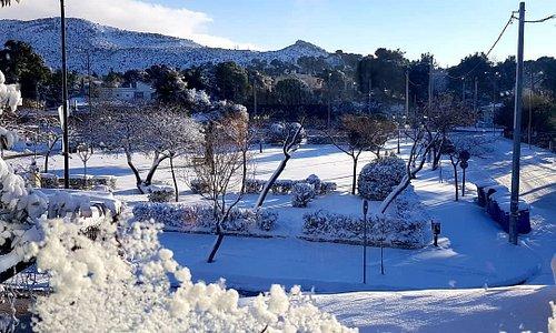 Happening now!! Snow everywhere!!!