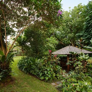 Relax in the gazebo and look at the beauty around you