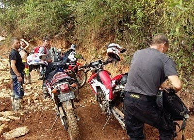 Great ride up hill with Honda CRF 250L