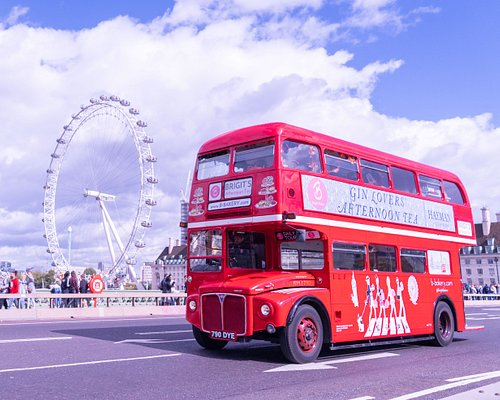 Our Gin Lover's Afternoon Tea Bus