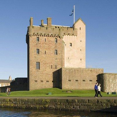 Exterior view of castle