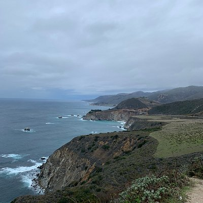 Big Sur Coastline from Hurricane Point.