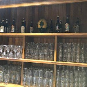 beer on display