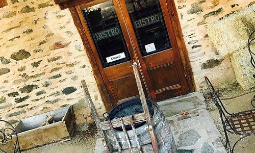 Entrance to the Cellar Door