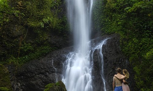 Waterfalls in the Solomon Islands