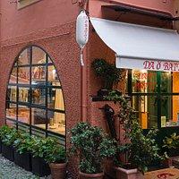 ingresso ristorante da O batti Portofino