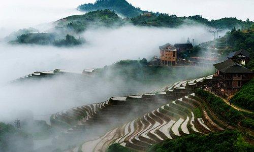 Rice Terraced Fields in Longji, Guilin