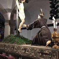 """l'un des """"chars à bras"""" transporté lors des processions religieuses"""