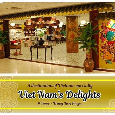 Vietnam's Delights is not only a Souvenir Centre, but also a destination of Vietnam Specialty