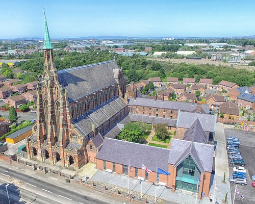 A stunning view from the skys of our magnificent Monastery