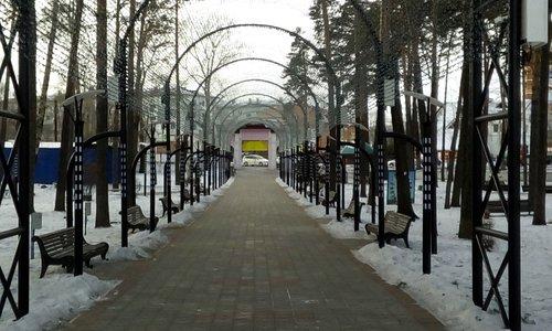 Городской парк. Белогорск Амурской области 2019