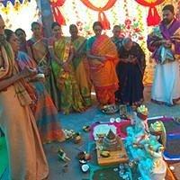 Saraswathi sametha Brahma devula pratista