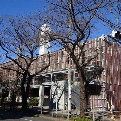武蔵野クリーンセンター建物外観