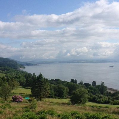 The firth of Clyde.