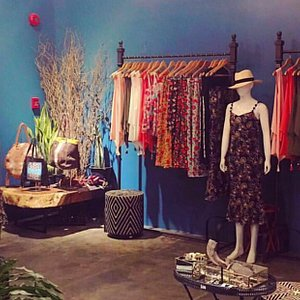 Upstairs boutique at Lanai Manila