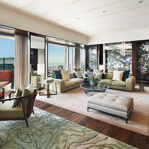 Mandarin Oriental, Tokyo_Presidential Suite_Living Room_3