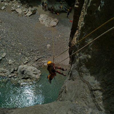 canyon de la ferné .... un accès direct au verdon secret !!