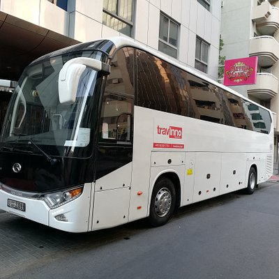 Coach tours in Dubai | Luxury Buses | Holiday packages | Travinno Tourism LLC