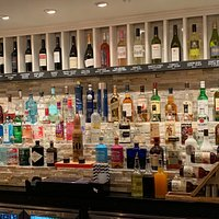 Generous choice of Spirits especially Gin!! Plus Vodka, rums etc etc!!