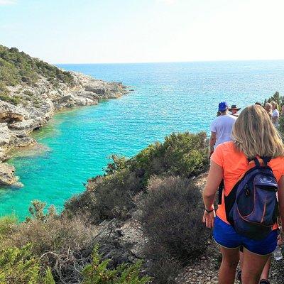 Coast walking in Antipaxos!