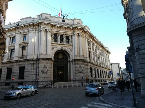 Palazzo della Banca d'ltalia, январь.
