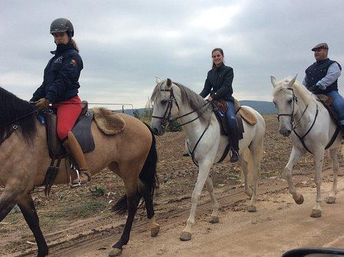 Passeio a cavalo Golegã