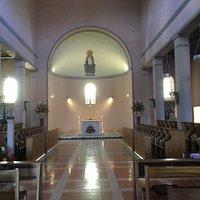 Vista desde el atrio de la Iglesia del Monasterio de Benedictinos de Guatapé