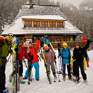 Ski touring in the Tatras! :)
