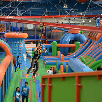 Twists, turns, spills and thrills on Zip Zag!