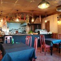 Кухня открытого типа, интересно наблюдать за поваром